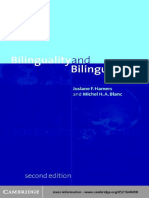 Josiane F. Hamers, Michel H. a. Blanc Bilinguality and Bilingualism