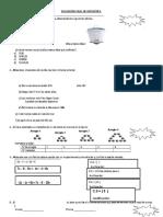 Evaluación Final de Matemática 2016 Asa