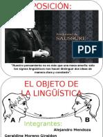Exposición Saussure