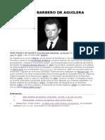 Abilio Barbero de Aguilera 1931-1990