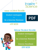 Inspire Science Bundles