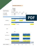 Transformer Differential Calculation