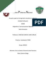 Reporte PWM de Los Santos Chavarria y Rivas Caceres