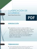 CLASIFICACIÓN DE ACUÍFEROS. MIGUEL ANGEL RAMIREZ.pptx