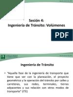 Sesión 4 Ingeniería de Tránsito (1)