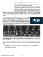 3D-Imaging of the Knee With an Optimized 3D-TSE Sequence and a 15 Channel Knee-coil at 3T