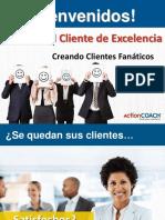 Webinar Servicio Al Cliente de Excelencia