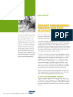02 Brochure 'Project and Portfolio Management' Solution Brief