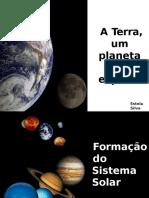 A Terra Um Planeta Especial