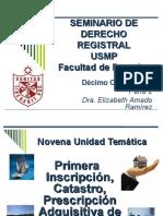 Seminario de Derecho Registral Usmp Parte 2 2014-2