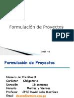 Sesiòn 01 Formulacion de Proyectos