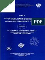 Formulacion de Proyectos Unesco Pnud