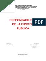 Fundamentos Teoricos de La Funcion Publica en Venezuela
