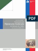 Gpc Hipoacusia Menores 2 Años
