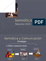 Semiotic a 2010 Resume n