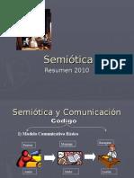 Semiotic a 2010 Resume n