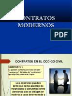 DIAPOSITIVAS CONTRATOS MODERNOS