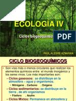 Ecologia IV