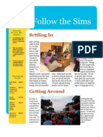Sims June-July 2010 Newsletter