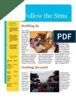Sims June-July 2010 Newsletter