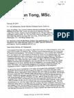 Dean Tong's Letter to re-open criminal investigation of Mahathep Srikureja