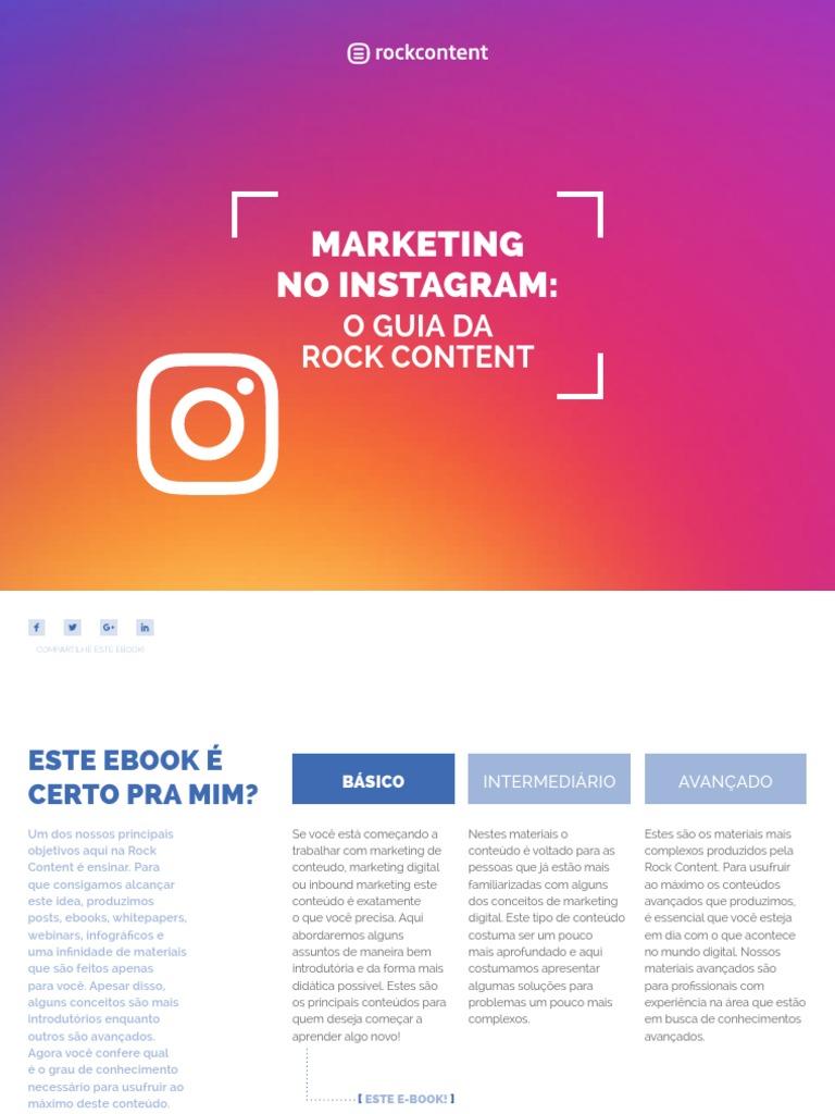 e38bde6cbd Marketing No Instagram - O Guia Da Rock Content1