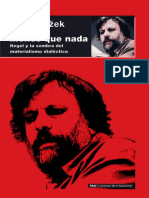 00. Žižek, Slavoj - Menos Que Nada. Hegel y La Sombra Del Materialismo Dialéctico (Introducción)