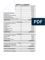 Lista de Compras de Instituto