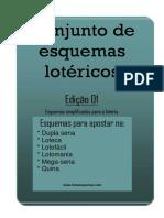 Conjunto de Esquemas Lotéricos - Edição 01