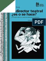 Arrojo Victor El Director Teatral