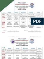SHS Class Program 2017-2018