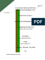 Tema Tercera Claseclases de estructuras