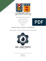 Informe 1 Taller - Oil Solutions