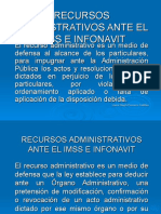 RECURSOS ADMVOS ANTE IMSS E INFONAVIT.ppt