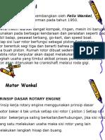 Motor Wankel Rotasi
