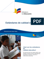 4. Estandares de Calidad Educativa - Monserrat Creamer