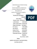Informe, Modulo Almacen-Practica