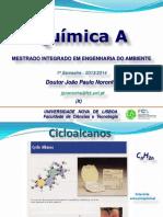 07 - QUÍMICAA 1314 - X - Cicloalcanos.pdf