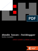 Desde Lacan_ Heidegger - Jorge Aleman Lavigne.pdf