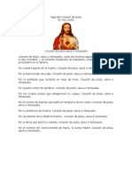 Oración Al Sagrado Corazón de Jesús Por Venezuela