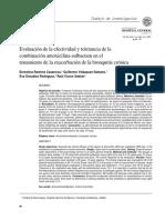 Evaluación de La Efectividad y Tolerancia de La Amoxicilina en el tratamiento de problemas pulmunares