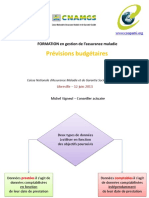 Prévision budgétaire