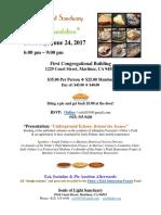 flyer - pie   presentation pfrp fundraiser