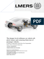 The damper levels influence on vehicle roll, pitch, bounce and cornering behaviour of passenger vehicles.pdf