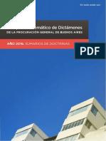 Compendio Dictamenes Pg Gcba 2016