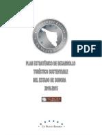 Plan Estratègico  de Desarrollo Turìstico Sustentable del Estado de Sonora