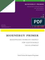 Bioenergy Primer