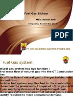 Fuel Gas System GT