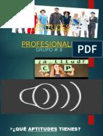 Aptitudes Profesionales