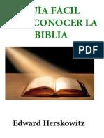 Guia Facil Para Conocer Biblia - Edward Herskowitz
